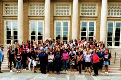 Group photograph of students and faculty at the UALE Summer School.