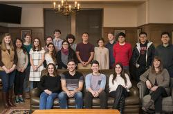 Worker Institute student research fellows, spring 2016
