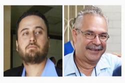Tutela Legal's Attorney Alejandro Diaz and SHARE El Salvador's Executive Director Jose Artiga