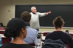 Rocco Szanza co-teaches mediation course