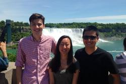 Fellows at Niagara Falls