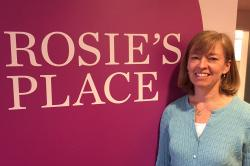 Photo: Kelly Race at Rosie's Place