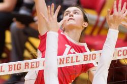 Carla Sgandrella, Cornell Volleyball
