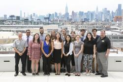 Faculty and summer fellows from ILR's New York City office