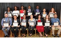 Ph.D. graduates
