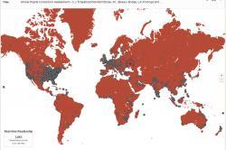 Real-Time Readership Map