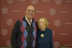 Former ILR Dean Harry Katz and former Associate Dean Lois Gray