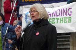 Irene Lanzinger, BCFED President