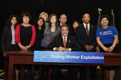 Governor Cuomo signs legislation to protect Nail Salon Workers
