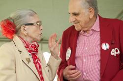 Harriet Oxman and Jerry Alpern at Reunion