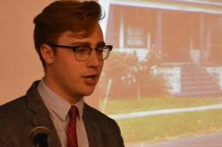 Victor Rieman presents on zombie homes