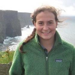 Laurel Leyden at the Cliffs of Moher
